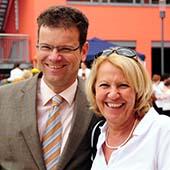 BSG Bad Nauheim - Sportsfun Teamday 2011 - Armin Häuser und Kerstin Eisenreich